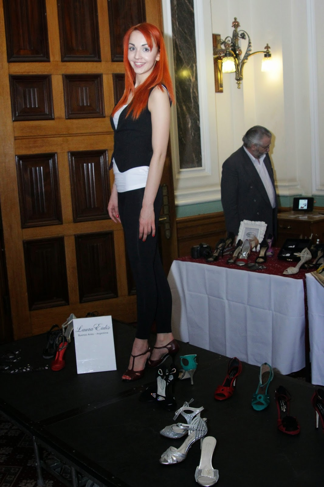Laura Eidis (Argentina) Showcase at Birmingham Fashion Week