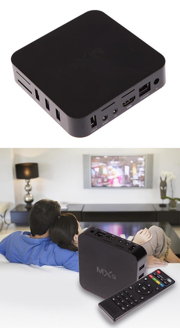 MXQ ANDROID BOX TV