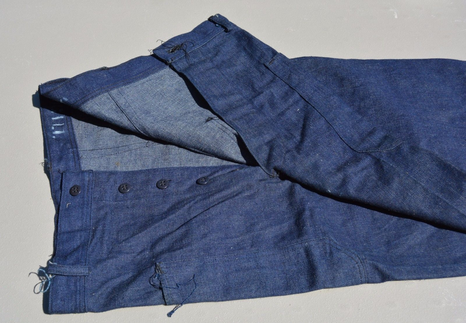 Nostalgia on Wheels: WWII USN Shawl Collar Denim Jacket ...