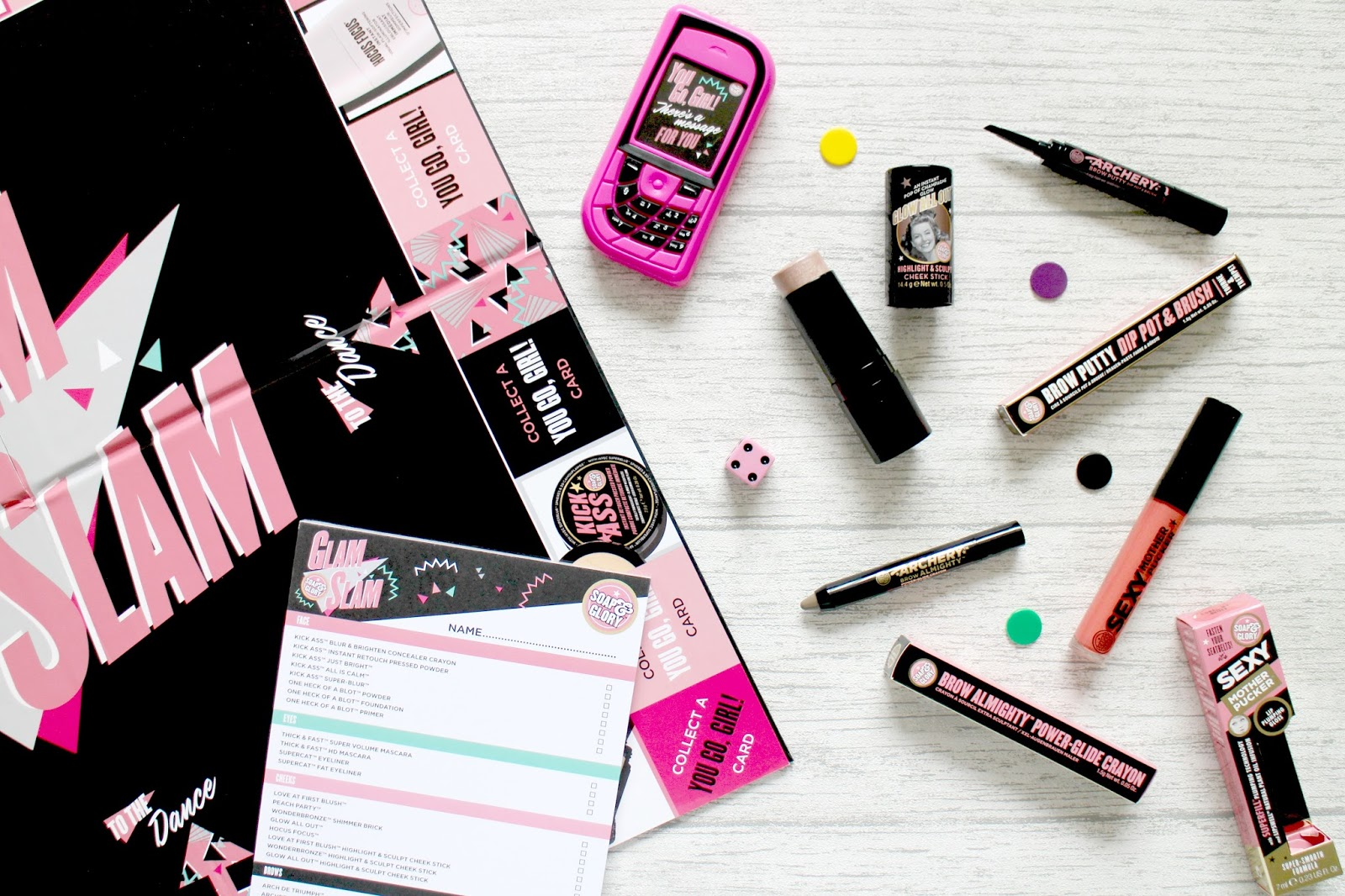 Soap & Glory Makeup Review