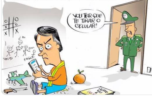 a6e3cdff7 Banca manda Bolsonaro sair do twitter e trabalhar para acabar com ...