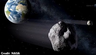 Potentially Hazardous Asteroids Found by NASA's Asteroid-Hunting Spacecraft