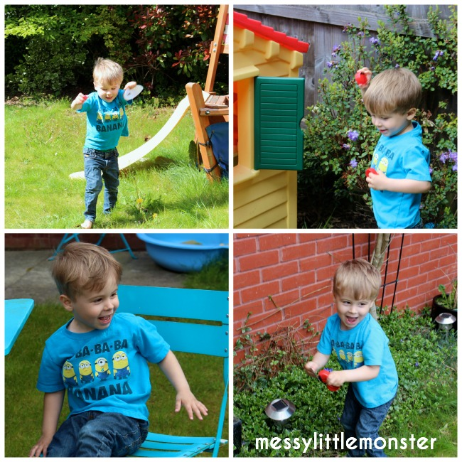 Learn to count ladybird hunt (FREE PRINTABLE NUMBER LEAVES)
