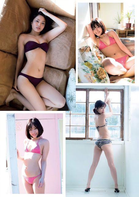 内山愛 Uchiyama Ai Weekly Playboy No 16 April 2018