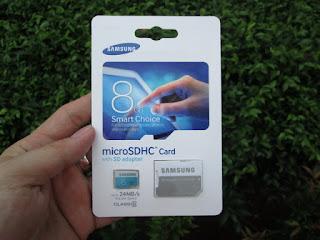 MicroSD 8GB Samsung Original Packing With Adaptor
