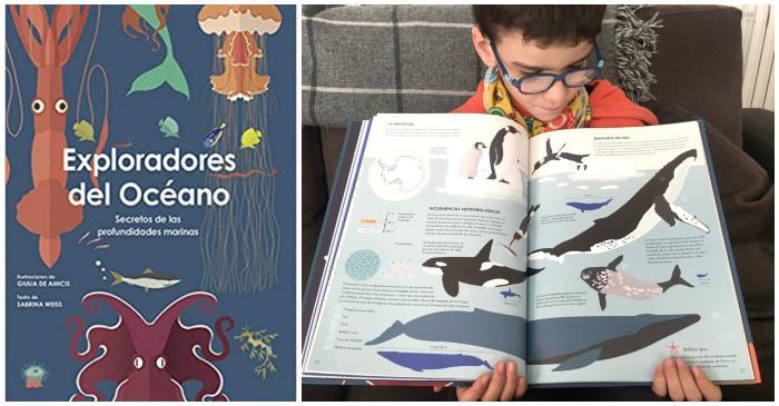 mejores cuentos libros infantiles de 5 a 8 años exploradores océano informativo