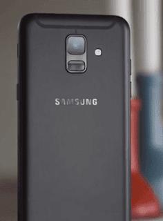 Samsung Galaxy A6 BackView (Single Camera)