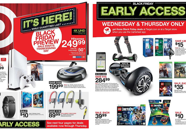 Target 2016 Black Friday Ad Flyer