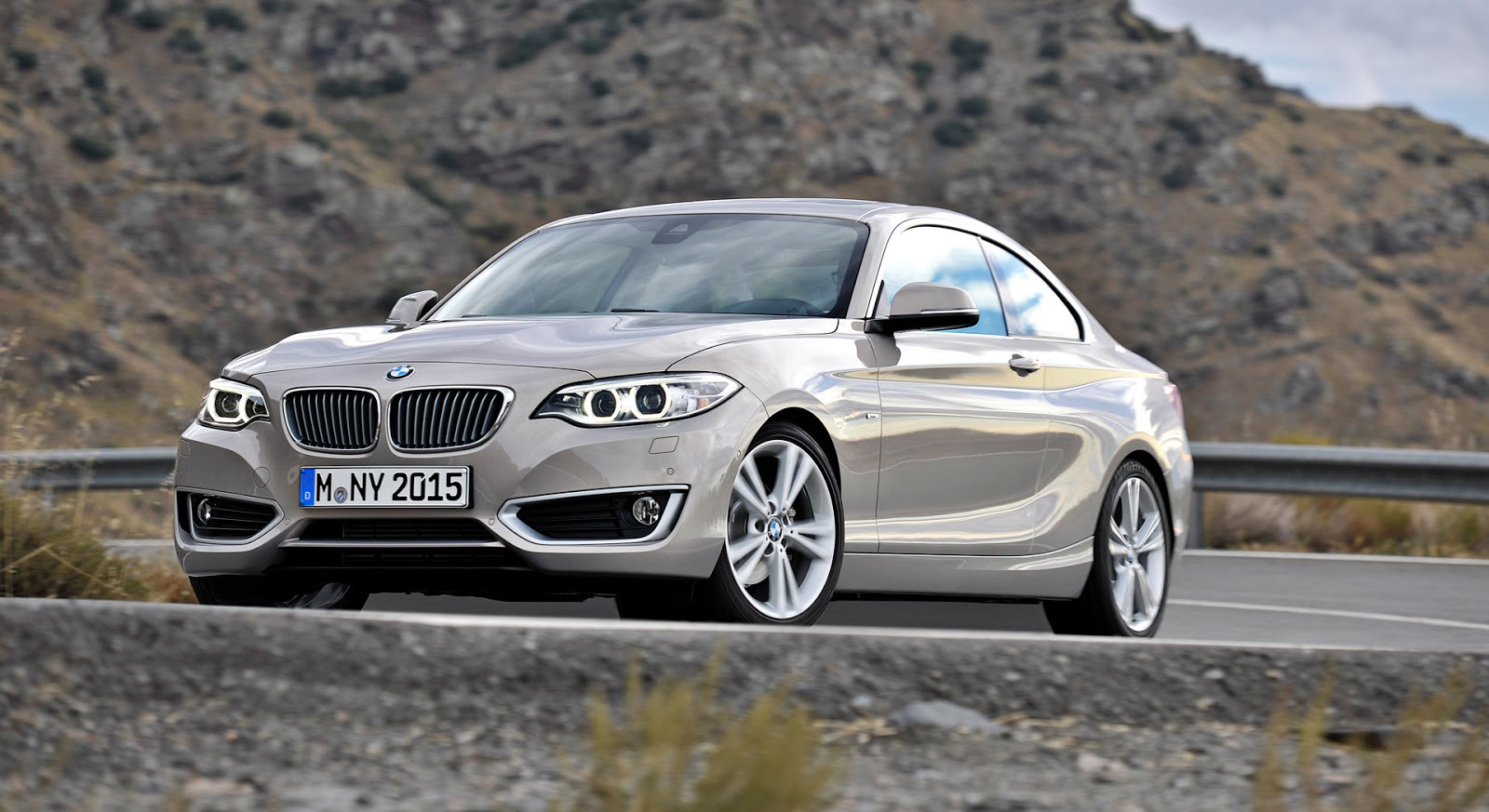 2014 Bmw 2 Series Coupe High Wheels