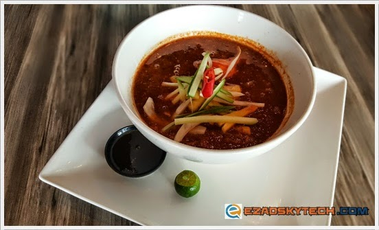 Assam Laksa With Sardine Fish U-Cafe Wangsa Walk