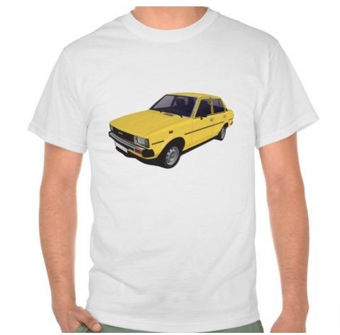 toyota, corolla, ke70, dx, t-shirts