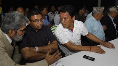 Bimal Gurung, Roshon Giri, P Arjun