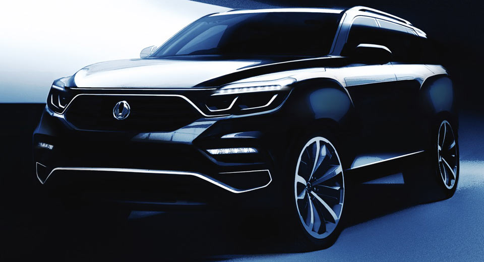 SsangYong Mahindra Y400 SUV design sketches revealed; India launch by end 2017