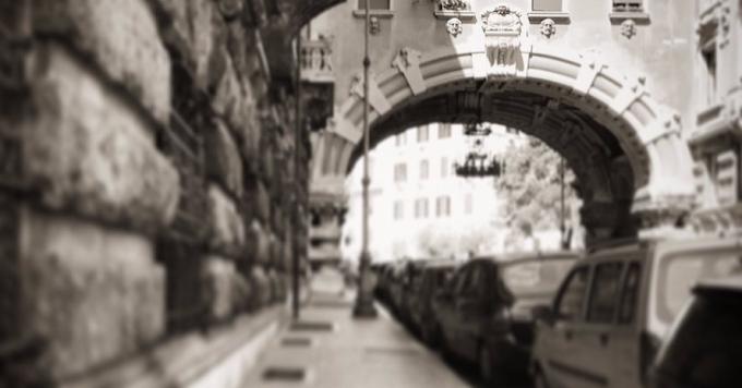 A spasso per Roma... in autobus: Il Quartiere Coppedè