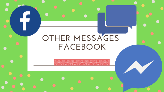 Other Messages Facebook