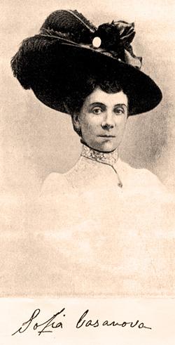 Resultado de imagen de Sofía Pérez Casanova