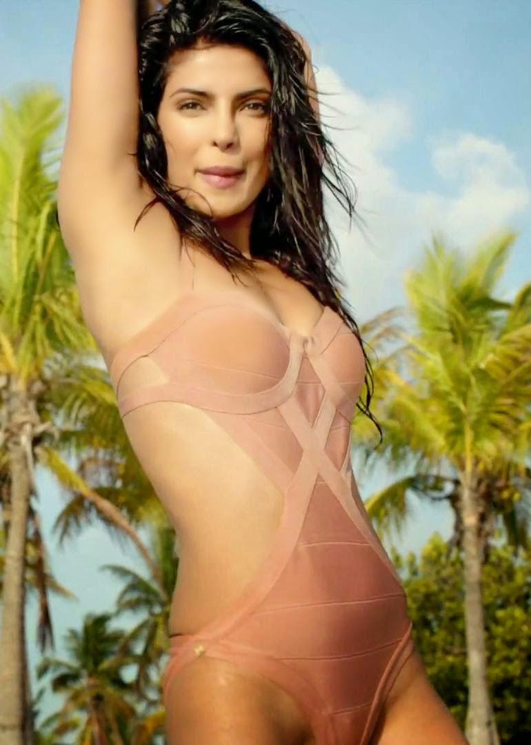 Priyanka Chopra's Exotic Bikini Show