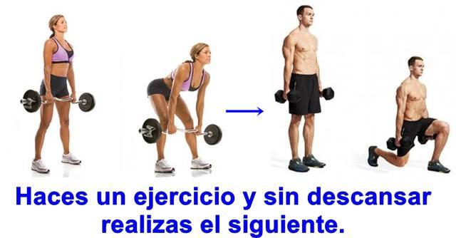 Biserie de ejercicios para incrementar el metabolismo y quemar grasa