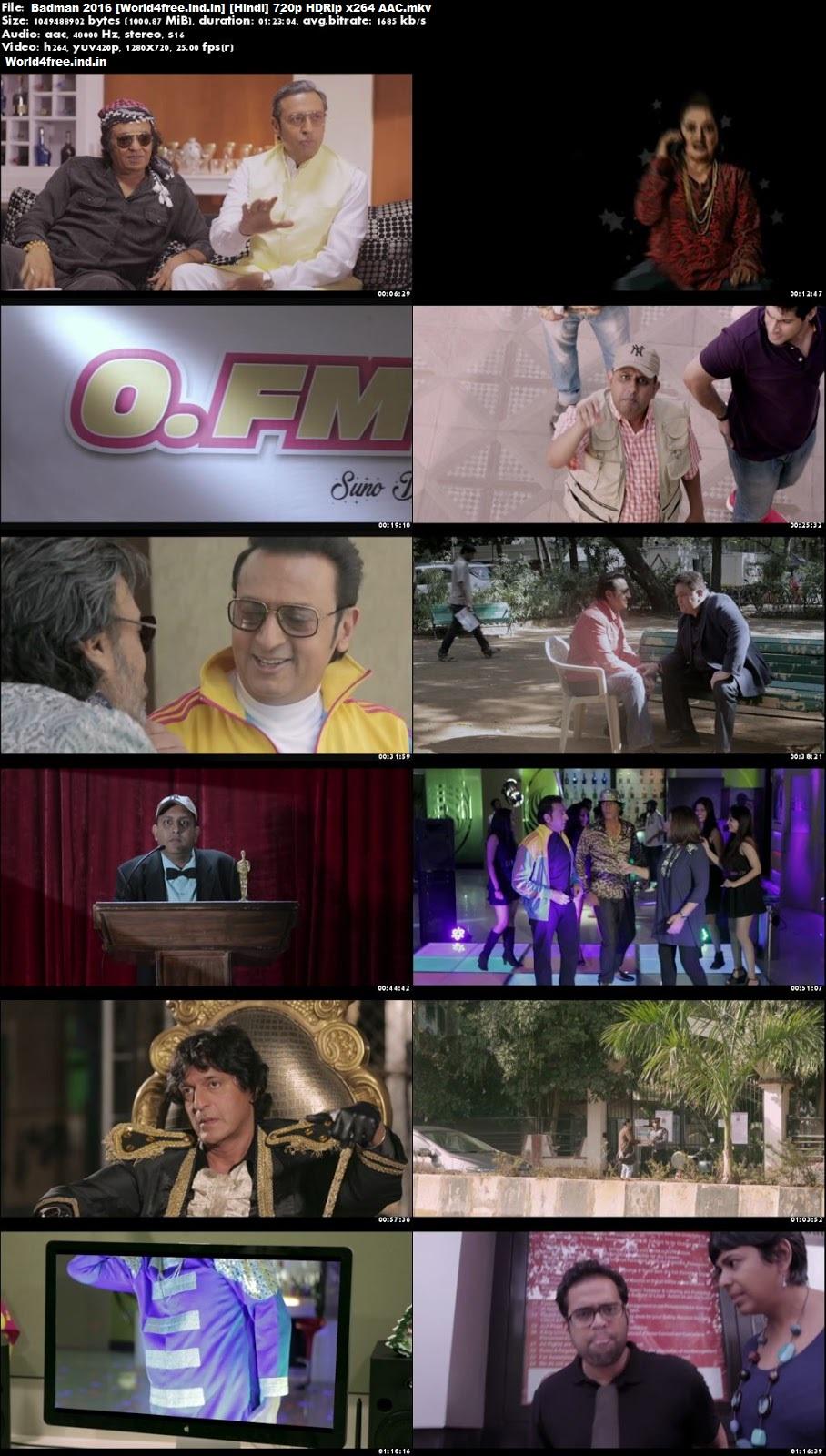 Badman 2016 world4free.ind.in HDRip 720p Full Hindi Movie Download