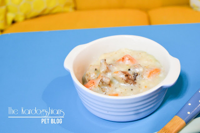Doggy Kardogshian White Stew Recipe (Using Rice Cooker/ Crockpot)