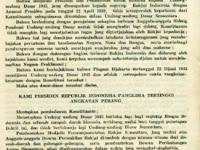 Latar Belakang Dekrit Presiden 5 Juli 1959 + Surat Asli Dekrit Presiden