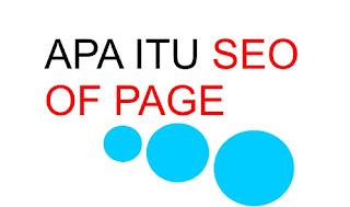 apa itu seo of page