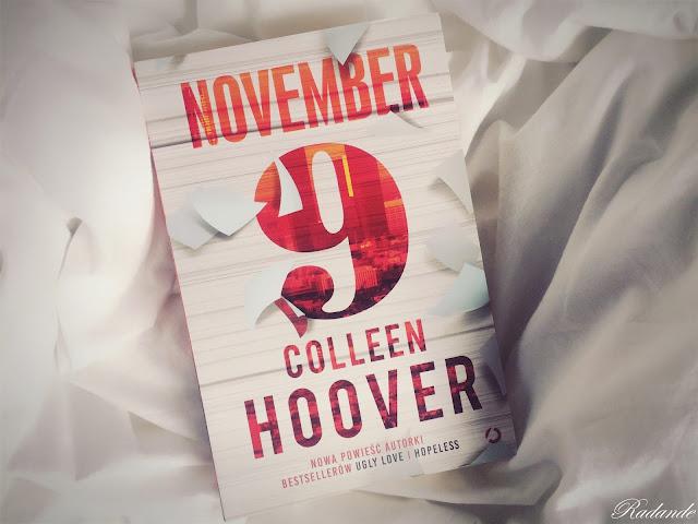 "Romantyczny kącik #11: Colleen Hoover ""November 9"""