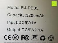 Kennzeichen: Swees® 3200mAh Ultra-kompakt Externer Akku Smart-USB (Smartport für maximale Ladegeschwindigkeit) Powerbank Power Bank Ladegerät Powerpack Zusatzakku für iPhone 6 Plus 5S 5C 5, Samsung Galaxy S3 S4 S5 S6, Note 3 4, Tab 4 3 2 Pro, Nexus, HTC One, One 2 (M8), LG G3 und andere Smartphones MP3 MP4 Player - Schwarz