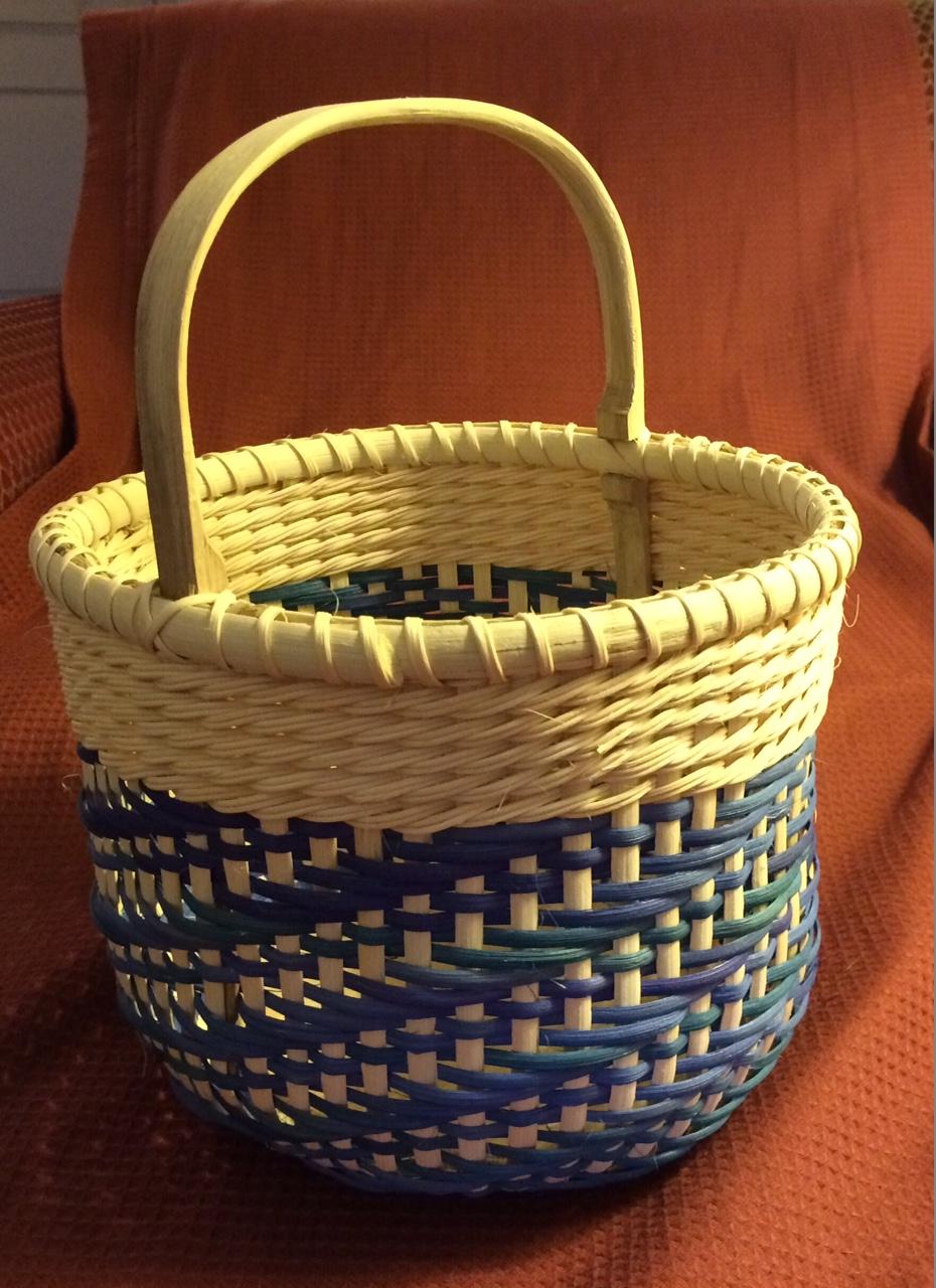 Basket Weaving Dyed Reed : Baskets a weaving odyssey