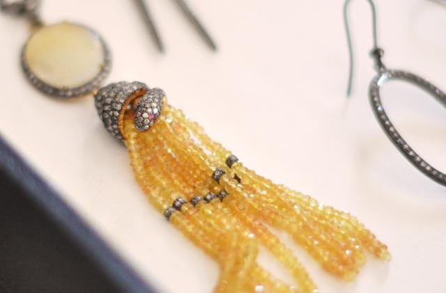 snake tassel necklace