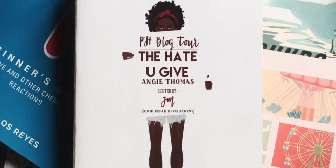 Writer For Misfits A Book Blog Blog Tour The Hate U Give By