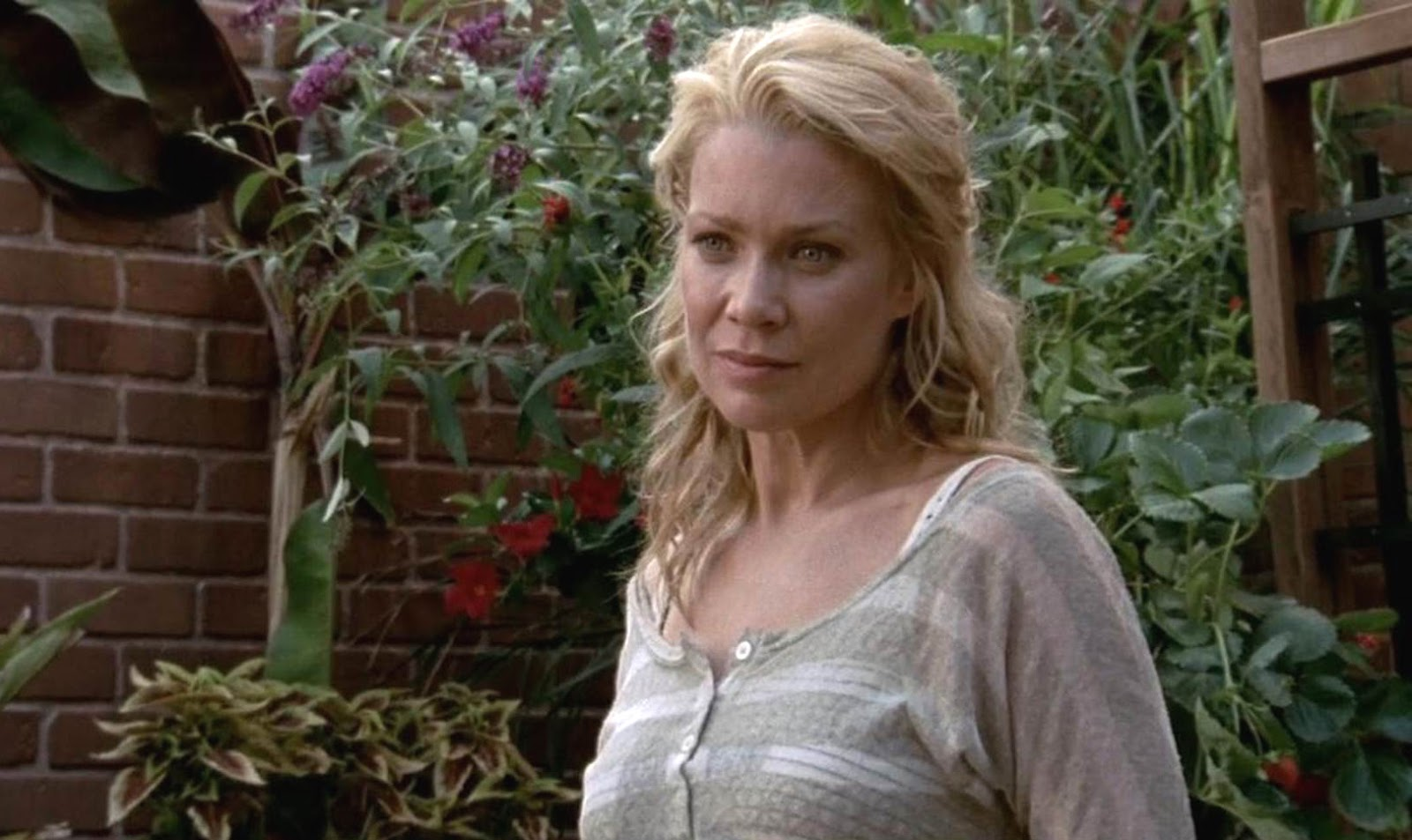 Andrea, durante un episodio de la tercera temporada de The Walking Dead