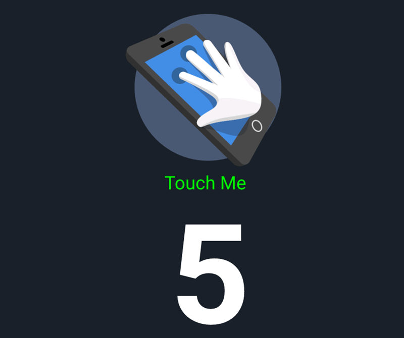 Standard 5 points of multitouch