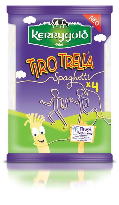 Tiro trella από την Kerrygold. Τυρί σαν μακαρόνι...!