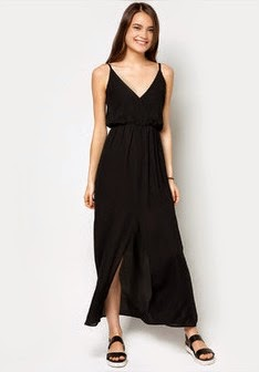 long dress hitam