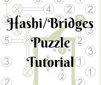 Hashi/Bridges Puzzle Tutorial by Conceptis Puzzles