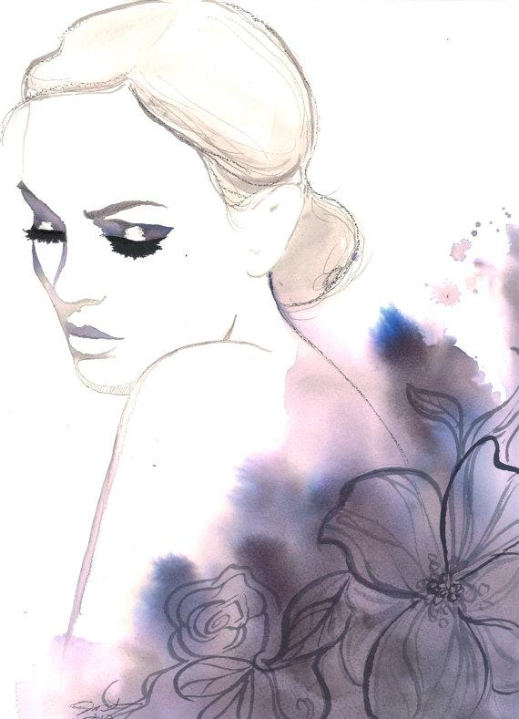 módní ilustrátorka