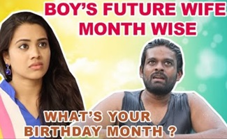 Boys Future Wife Month wise – Birthday Month   Stay Home create Withme   Chennai Memes