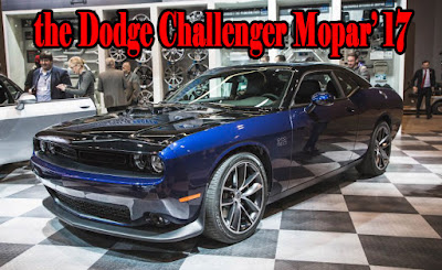 The Dodge Challenger Mopar' 17 limited edition - chicago auto show 2017 dates
