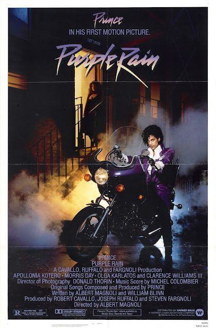 The Nomad Cinema Purple Rain at Saint Paul's