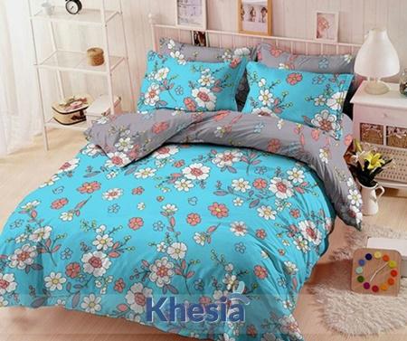 harga 1 set sprei dan bed cover
