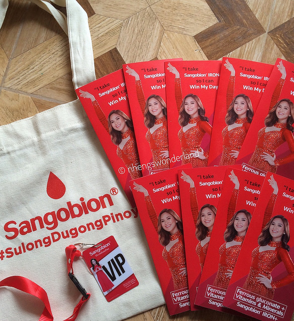 Sangobion Launches New Campaign: #SulongDugongPinoy