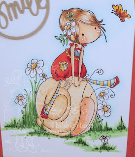 Heather's Hobbie Haven - Sally and Her Snail Card Kit