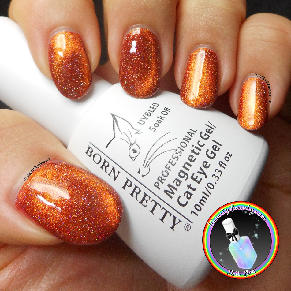 Holographic Magnetic Cat\'s Eye Gel Polish - Born Pretty Store Review ...