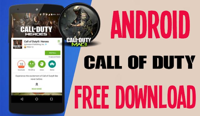 تحميل لعبة Call of Duty Mobile لهواتف الاندرويد