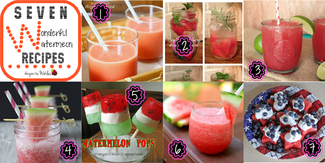 7 Wonderful Watermelon Recipes Roundup from www.anyonita-nibbles.com