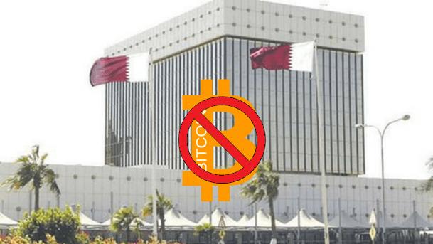 مصرف قطر المركزي يحظر العملة الرقمية، وويتوعد البنوك  والمصارف بالعقوبات في حالة التعامل بالبتكوين