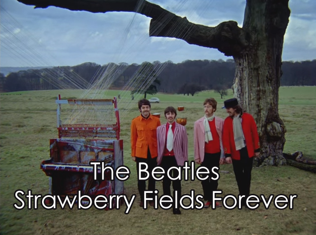 Lyrics Strawberry Fields Forever The Beatles With Chords And Video