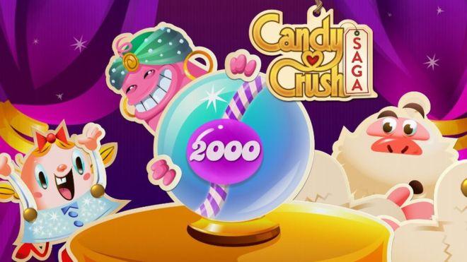 Candy Crush celebra el billón de jugadas con el nivel 2.000