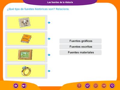 http://ceiploreto.es/sugerencias/juegos_educativos_6/11/4_Fuentes_Historia/index.html